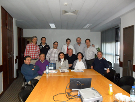 Doctores de SAMS y el Dr. Leandro Fernández