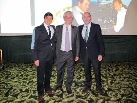 Dr. Vicente Sada, Dr. Jean Simon y Dr. Leandro Fernández.