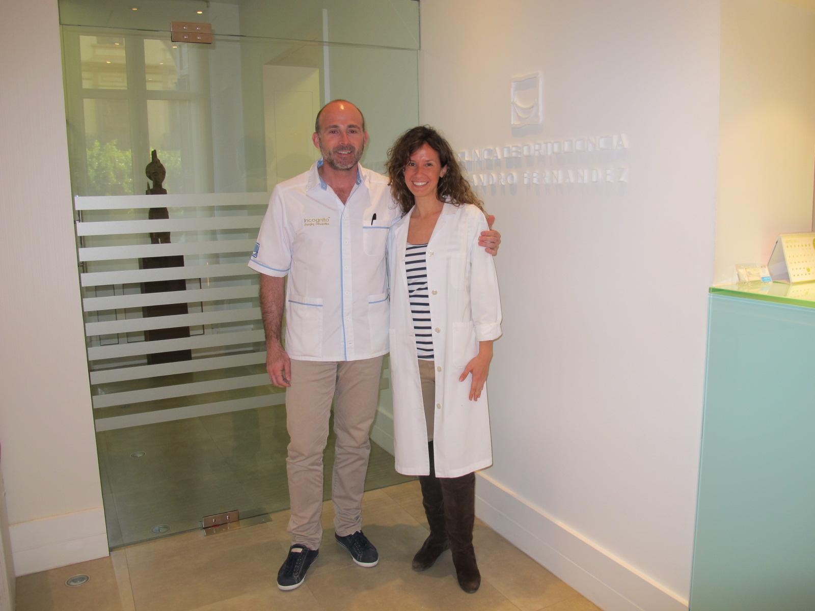 Dr. Fernández y Dr. Elena Minaya.