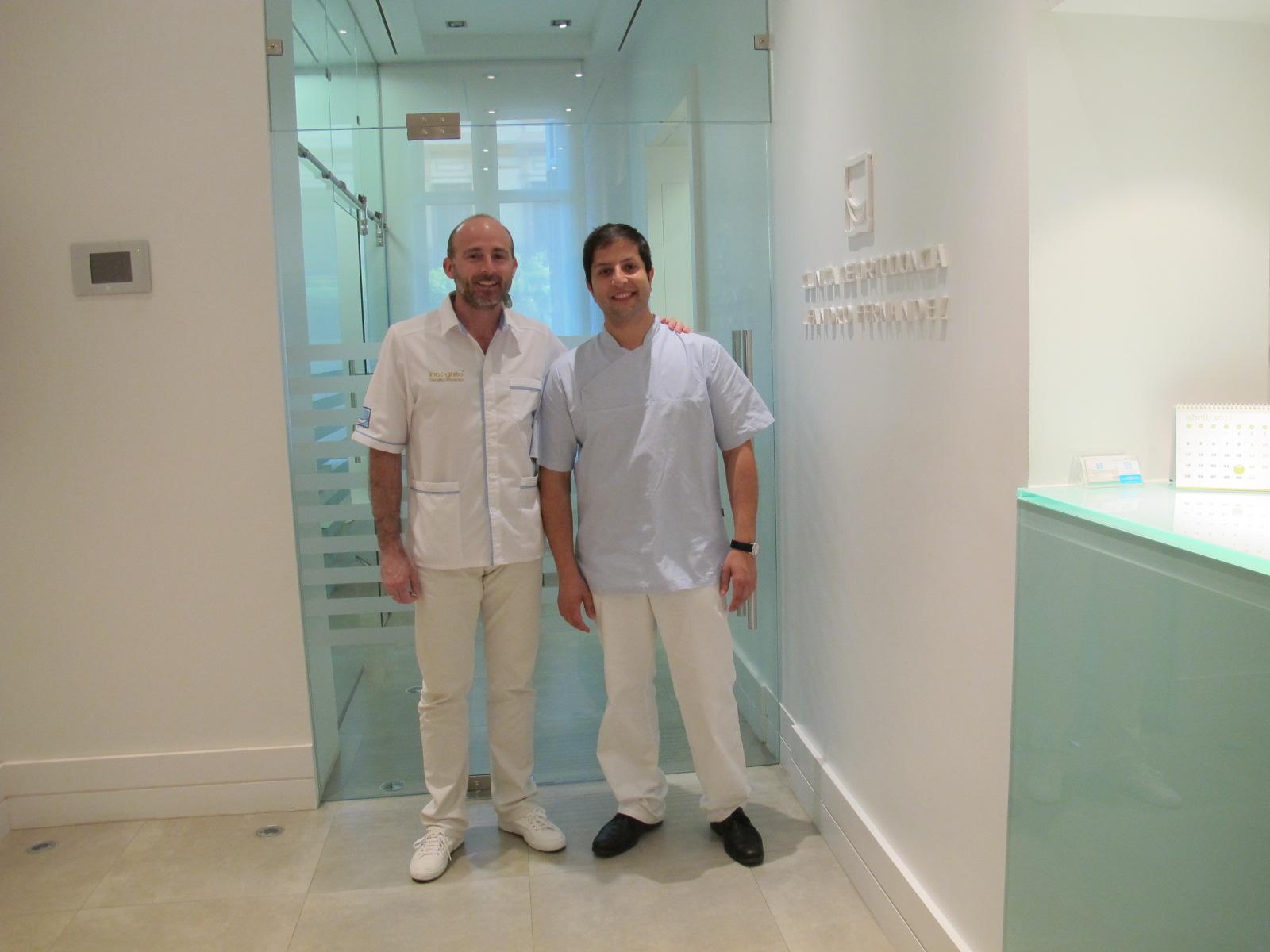 Dr. Leandro Fernández y Dr. Celso Casal.
