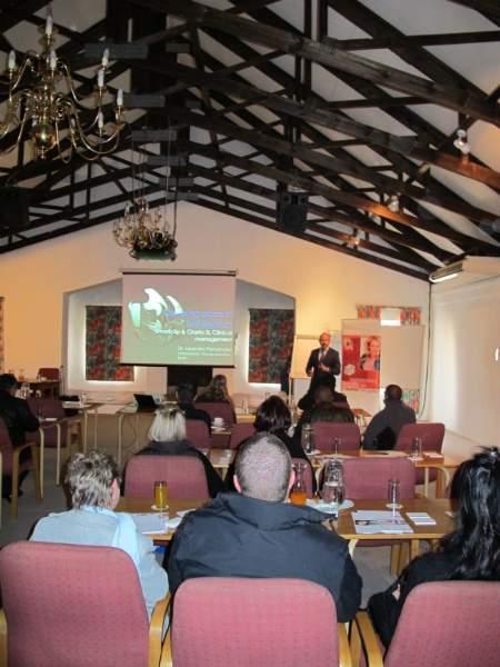 Curso en Johanesburgo.