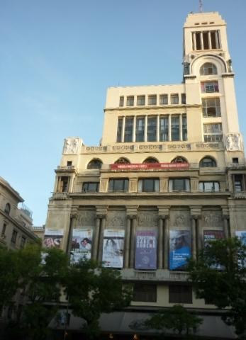 Círculo de Bellas Artes, Madrid.