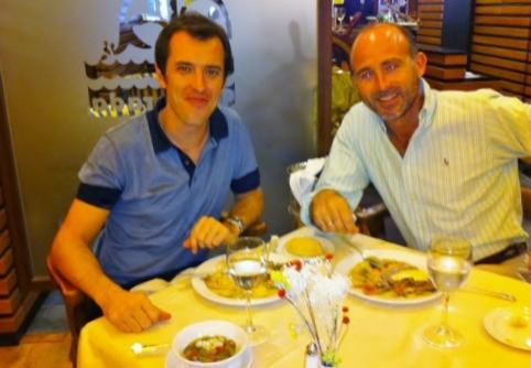 Dr. Amilio Melo y Dr. Leandro Fernández.