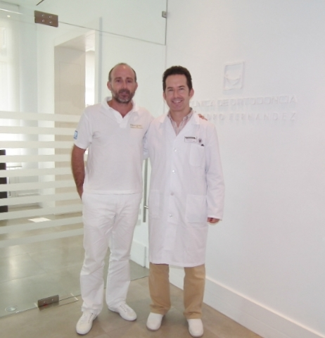 Dr. Chema Alamán y Dr. Leandro Fernández.