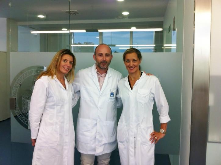 Dr. Catherine Galletti, Dr. Leandro Fernández & Dr. Coralie Fauquet-Roure.