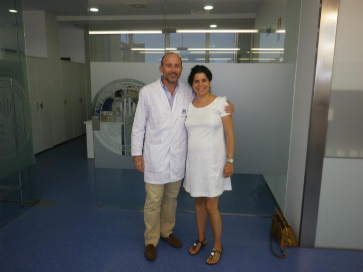 Dr. María José Sánchez & Dr. Leandro Fernández.