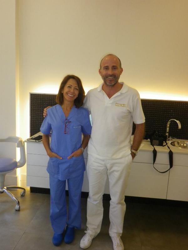 Dra. María Jesús Laporta y Dr. Leandro Fernández.