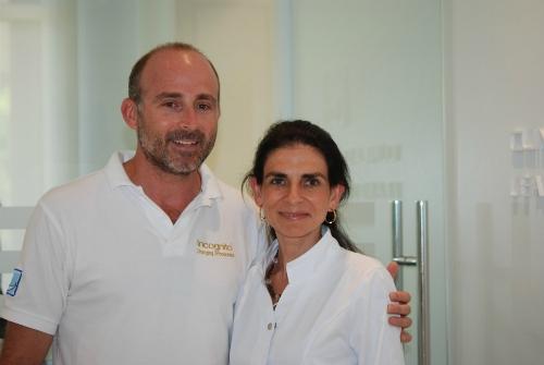 Dr. Susana Cubillo y el Dr. Leandro Fernández.