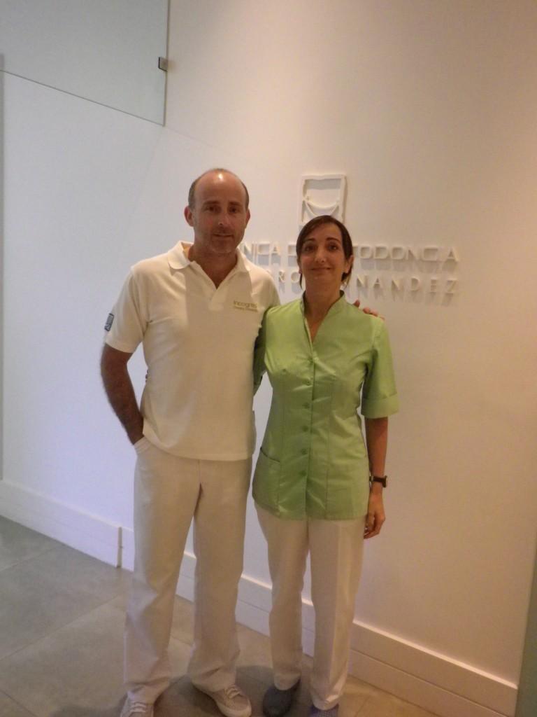 Dra. Amparo Luque y Dr. Leandro Fernández.