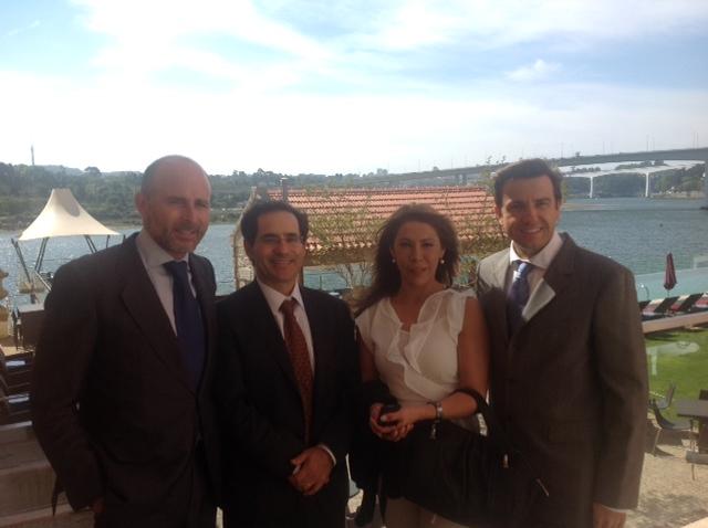 Dr. Leandro Fernández, Miguel Marcos, Silvia Mayer y Dr. Vicente Sada.