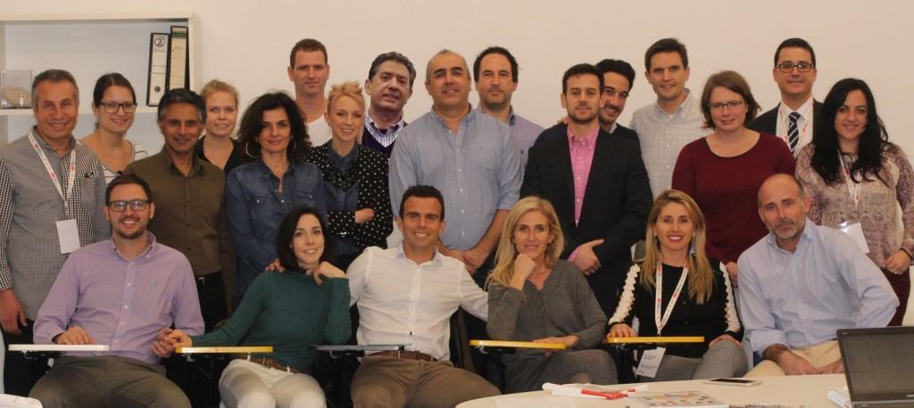Alumnos y profesores en el Módulo I del MOLI.