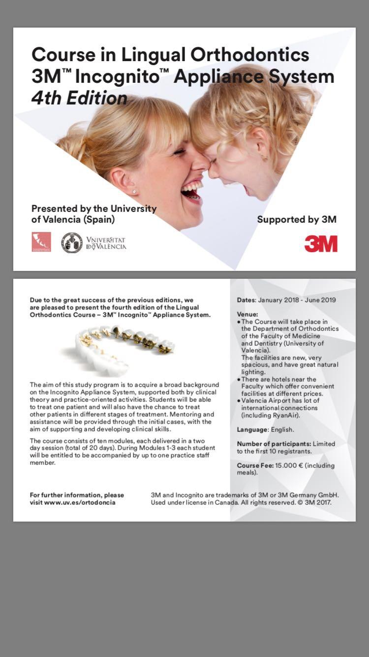 Master en Ortodoncia Lingual